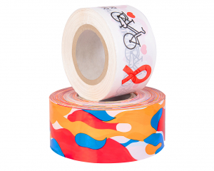 Barrier Tapes with 3 colour print