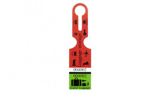 Luggage Tag with full colour print