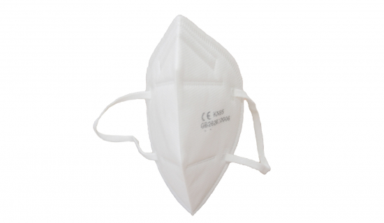 CE-certified KN95 Face Mask in white