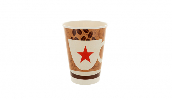 Recyclable Paper Cup 350 ml with full colour print