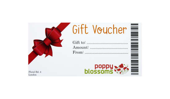 Gift Voucher with full colour print